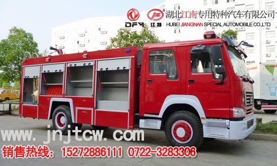 消防车橡皮泥制作步骤图片
