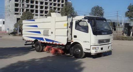 国五东风大多利卡8吨洗扫车